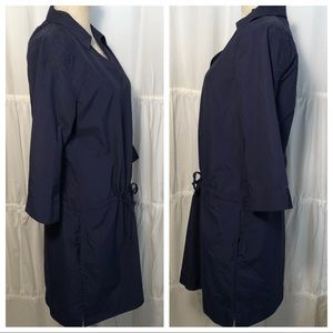 LL Bean Navy Dress size Medium